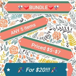 🎉$20 Make it a Bundle!!🎉